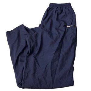 Vintage 90s Nike Athletic Navy Track Pants